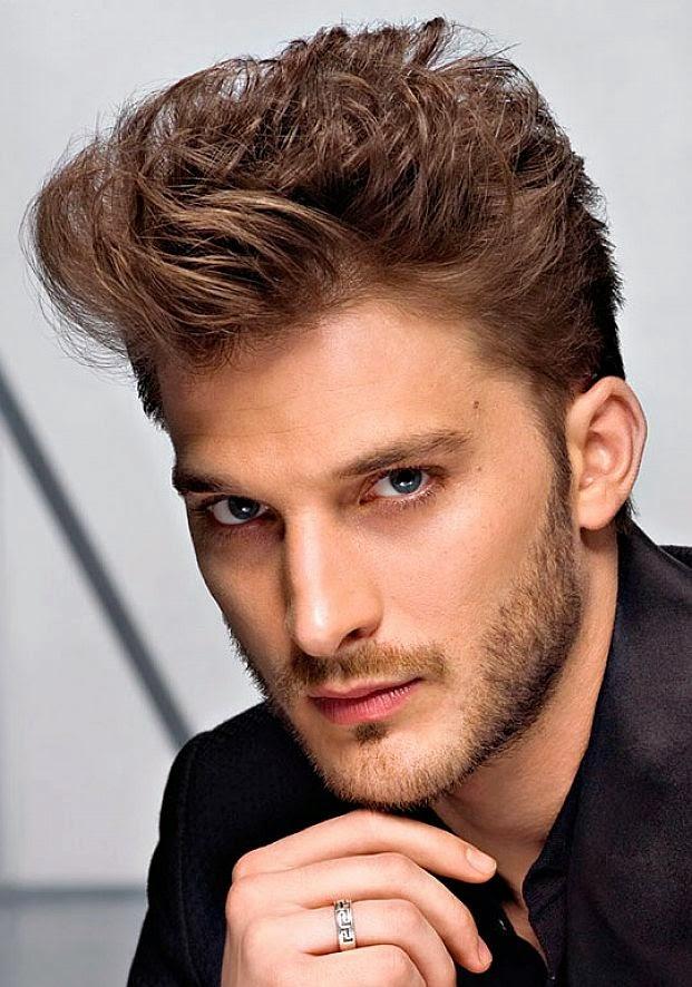 barba y cortes de cabello para hombres jvenes
