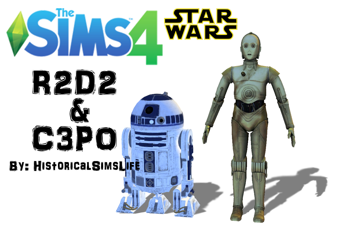 Ts4 r2d2 amp c3po star wars history lover s sims blog