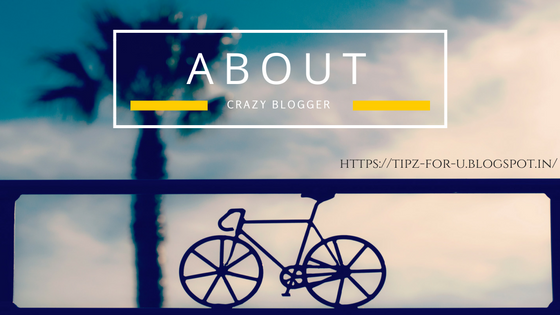 About Crazy Blogger