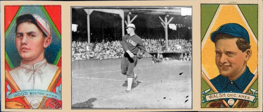 Cards That Never Were 1912 T202 Joe Wood And Ed Walsh