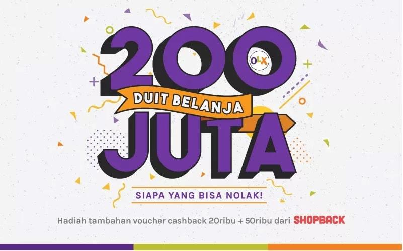 Promo Undian Pasang Iklan Di Olx Berhadiah Total 200 Juta Duit