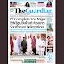 NAIJA NEWSPAPERS: TODAY'S THE GUARDIAN NEWSPAPER HEADLINES [14 OCTOBER, 2017].