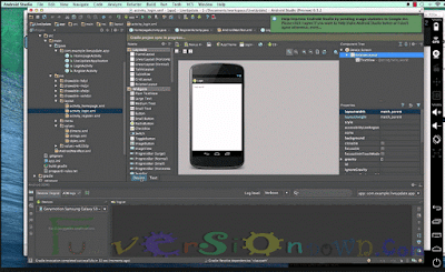 Android Studio IDE Latest 2.0.0.20 For Windows