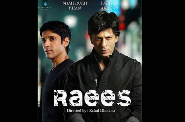 Shah Rukh khan and Farhaan akhtar on Raees movie