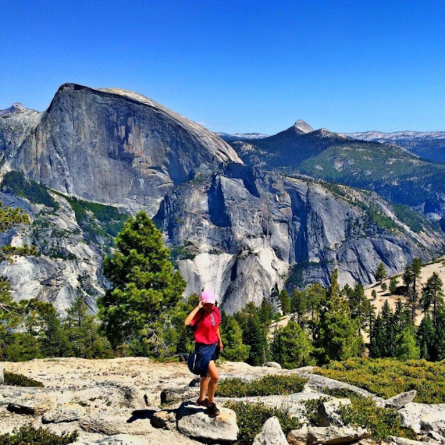 Yosemite Half Dome, Vivian Lee, Miss Happy Feet