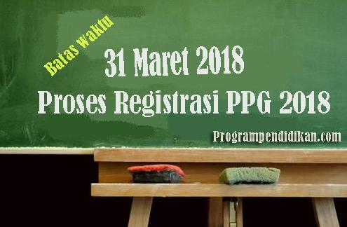 pada postingan ini saya akan berbagai info guru terbaru yakni Proses Registrasi PPG 2018 Wajib Semua Guru