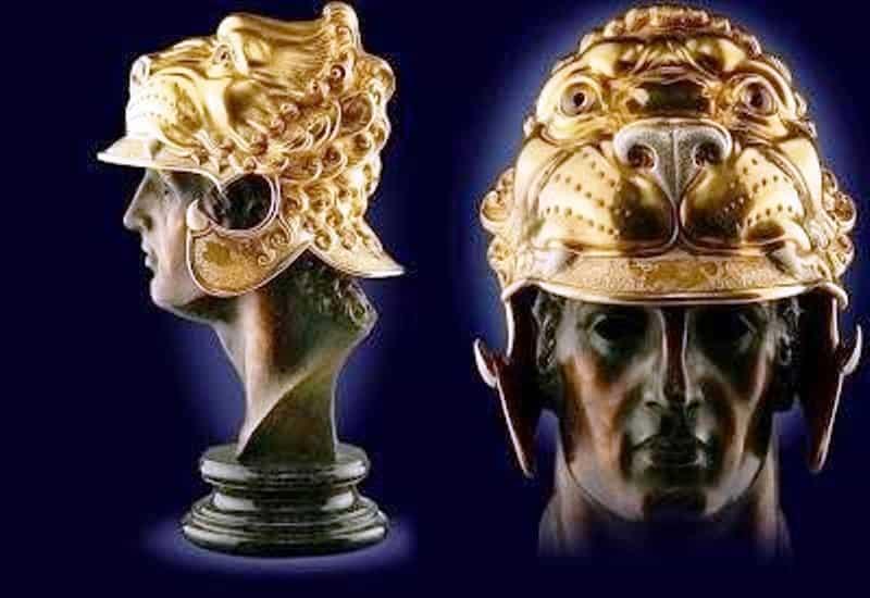 Η Μοναδική Περικεφαλαία του Μεγάλου Αλεξάνδρου