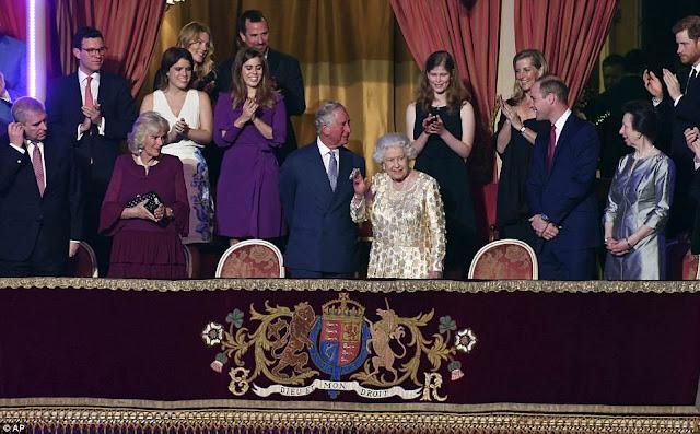 Koncert z okazji 92.urodzin Królowej Elżbiety II