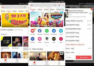 Aplikasi Download Video VidMate