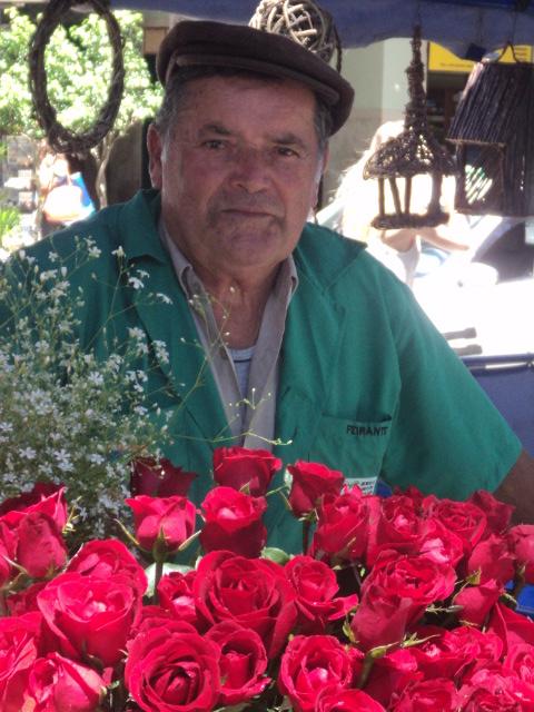 Pais, poesia, Mário Quintana, florista