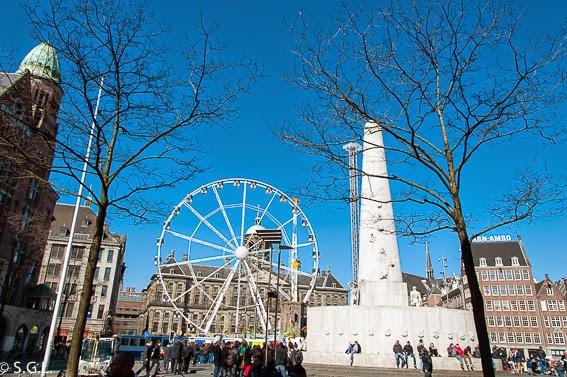 La plaza Dam en diez cosas que ver en Amsterdam