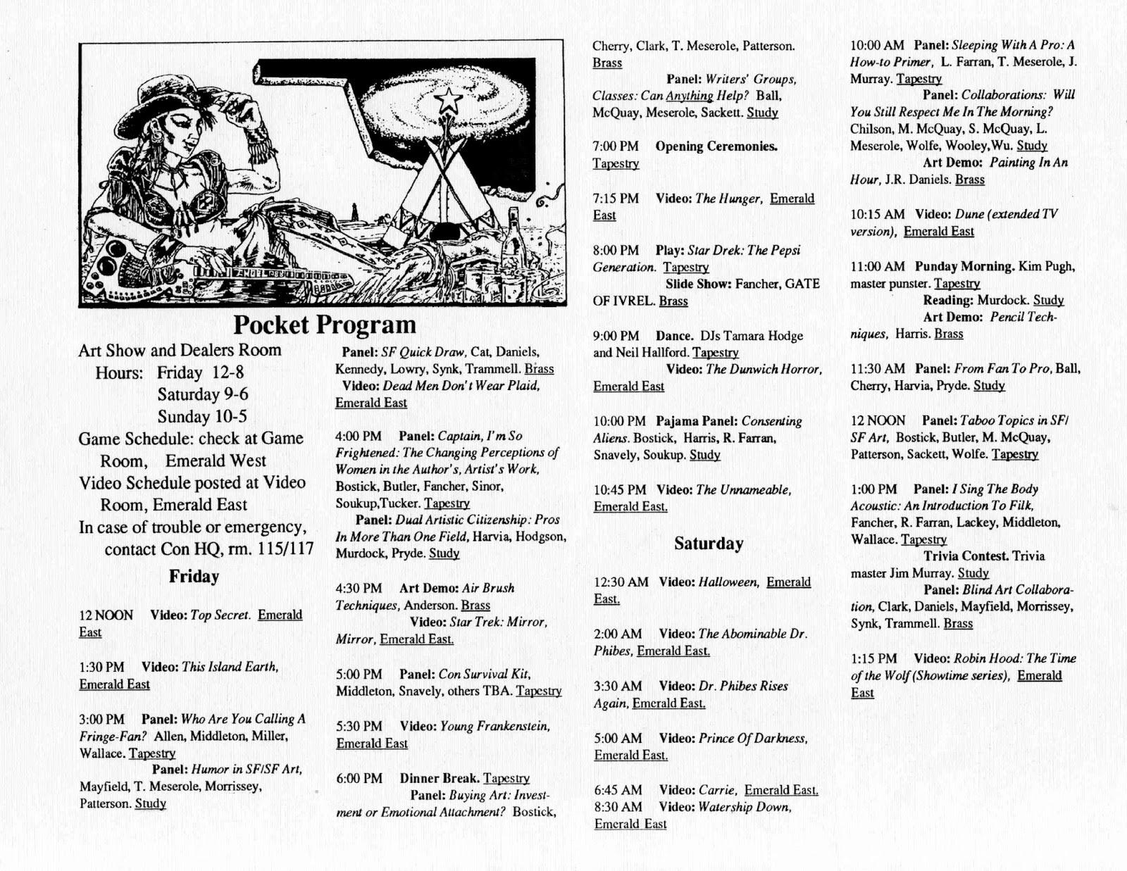 star okc - oklahoma city u0026 39 s bygone sf  fantasy club  1988