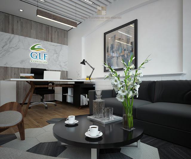 Thiết kế nội thất phòng giám đốc cao cấp cần chú trọng vấn đề gì - H1
