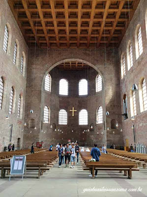 Interior Basilica Constantino, Trier