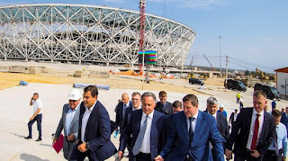 FIFA World Cup brings renewed airport, hotels, stadium and beach to Volgograd