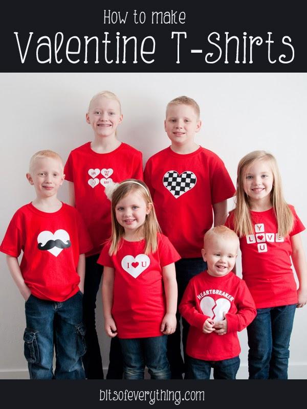 Diy Valentine T Shirts Bits Of Everything