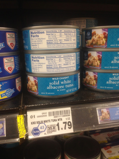 Solid White Albacore Tuna, 5 oz - Kroger