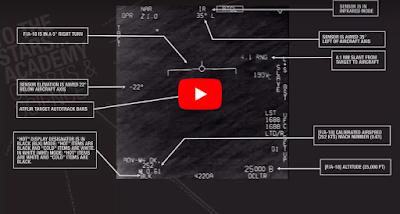 مقاتلات أمريكية ترصد أجساما طائرة مجهولة