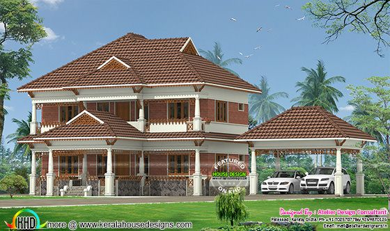 Traditional model Kerala Home