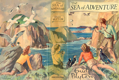 The sea of adventure Enid Blyton