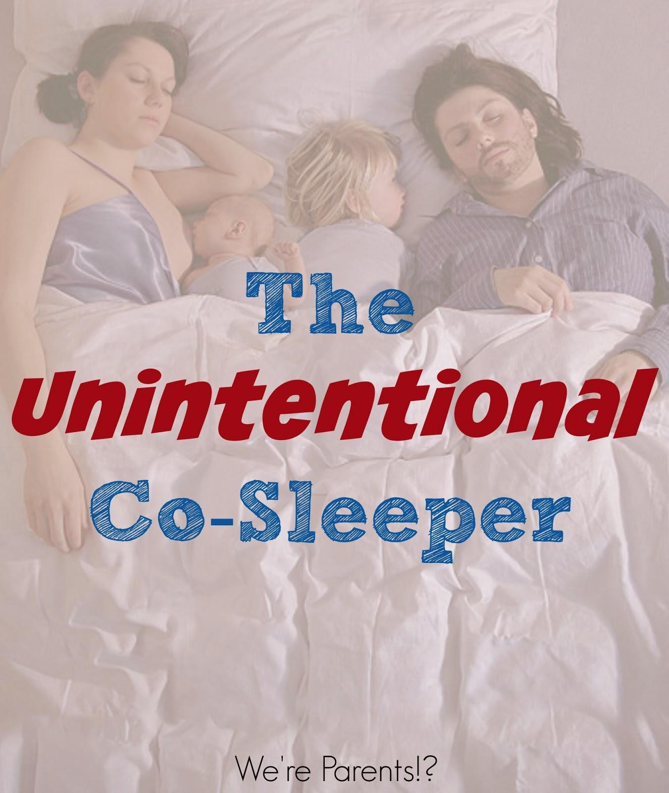The Unintentional Co-Sleeper MomCave co-sleeping