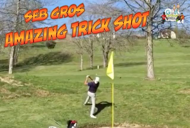 Sebastien Gros Golf Trick Shot