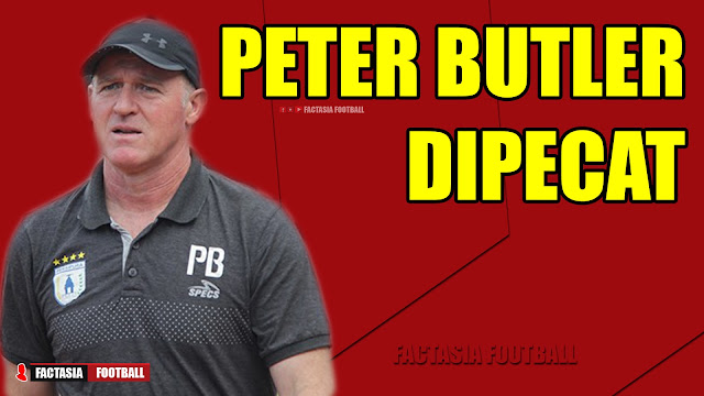 Mengejutkan! Peter Butler DIPECAT Persipura Jayapura