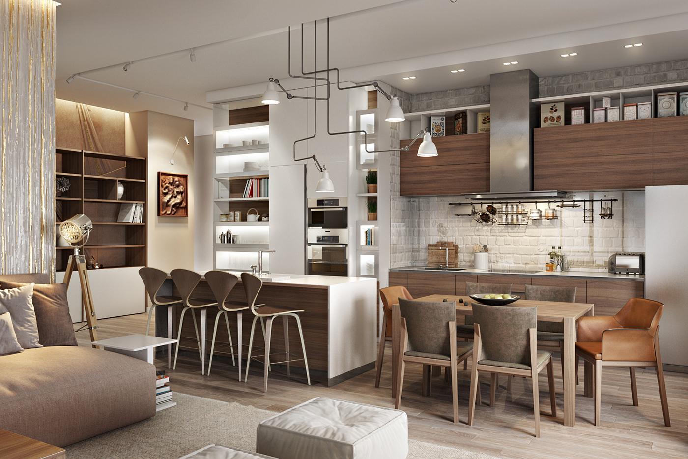 Loft Cozinhas Que S O Tend Ncia Casinha Colorida