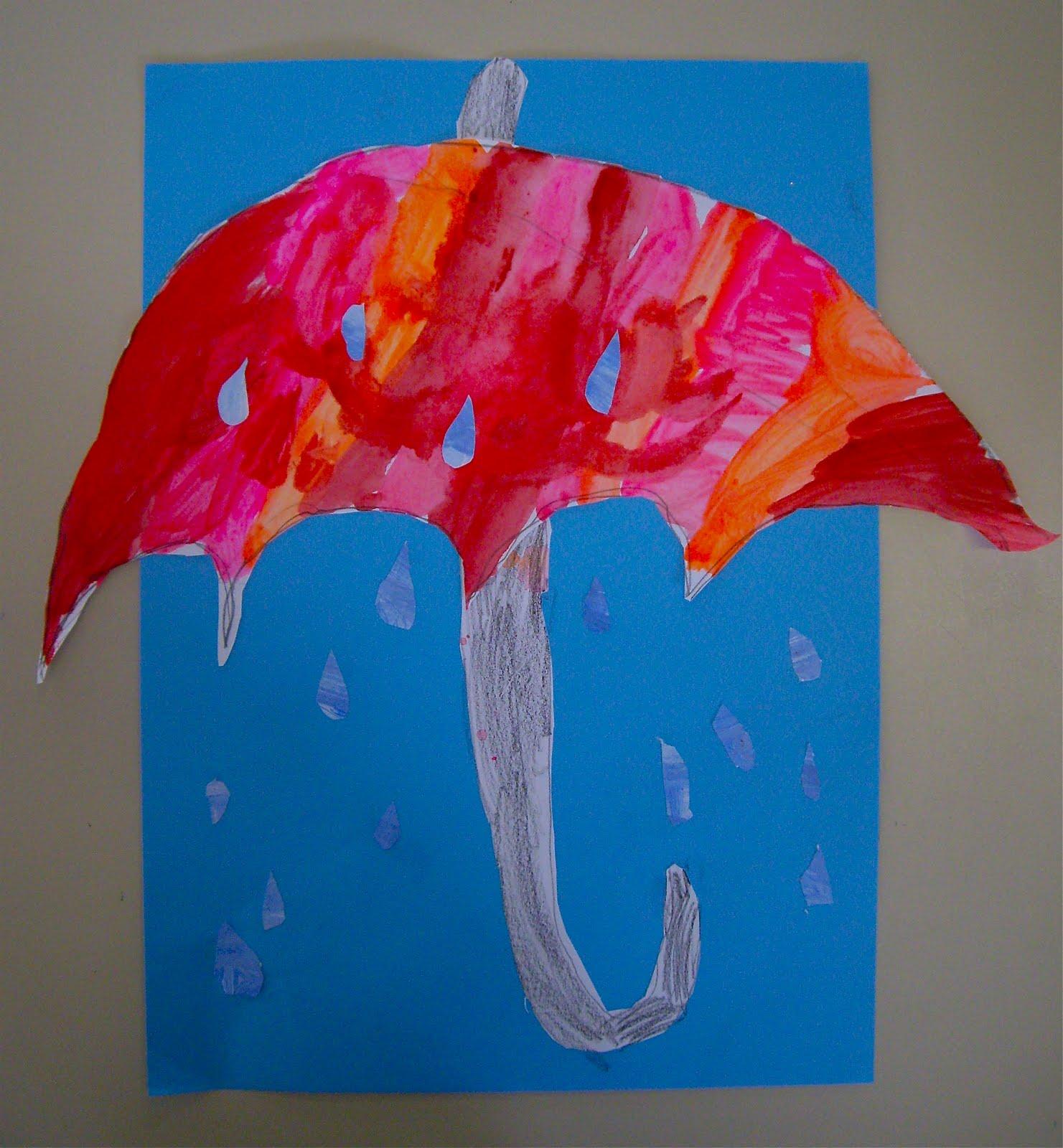 Use Your Coloured Pencils Umbrella