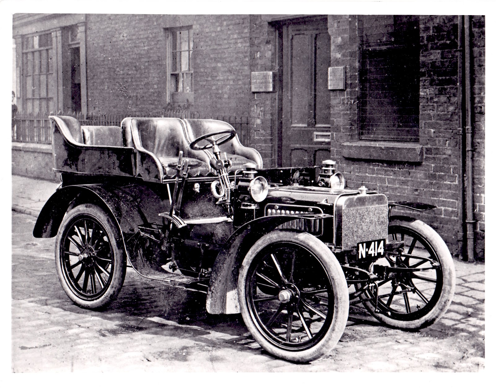 Either The First Or Second Car Built By Royce