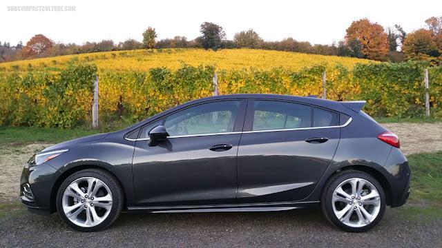 2018 Chevrolet Cruze Diesel Hatch in Wine Country