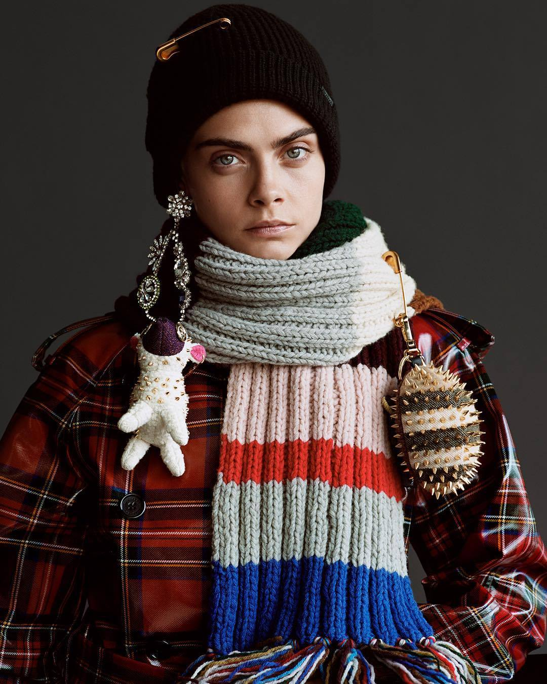 Burberry Holiday 2017 Campaign Cara Delevingne by Alasdair McLellan
