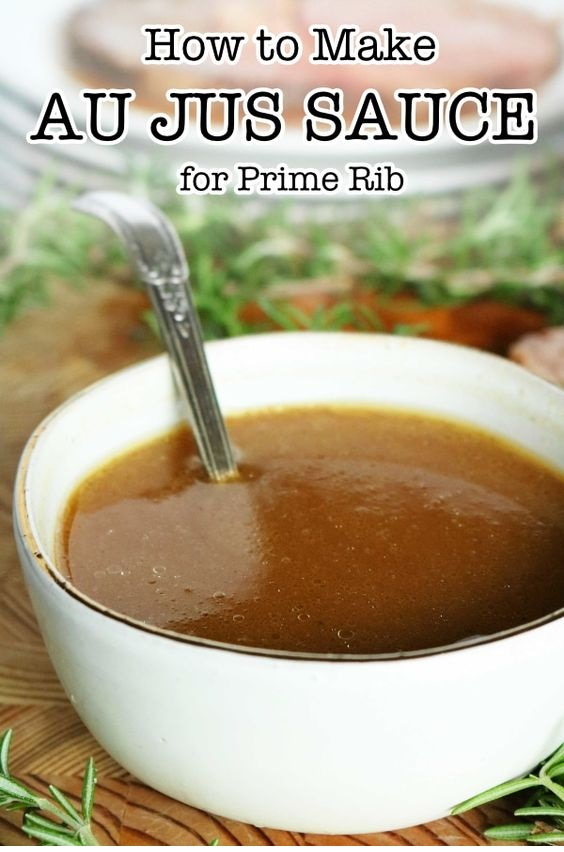 Prime Rib Au Jus