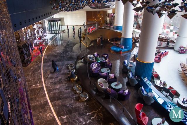 Lobby of W Hotel Suzhou