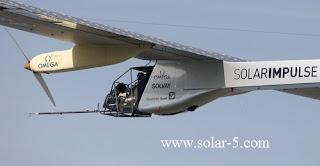Solar Impulse Prototype Solarflugzeug