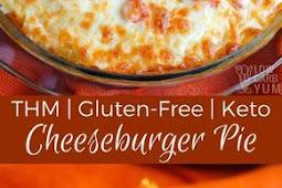 Keto Cheeseburger Pie