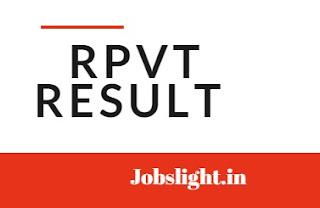 RPVT Result