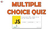 Create a Multiple Choice Quiz Using JavaScript