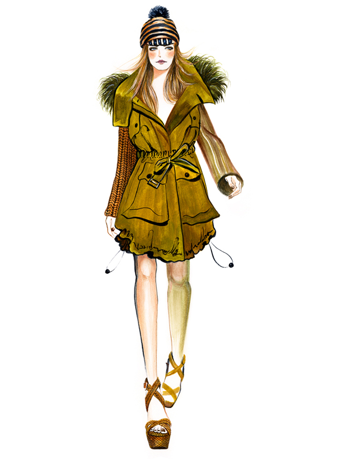 sunny gu spring summer rtw 2012 runway illustrated