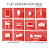 Flat Design Icon Pack by Vektorkades
