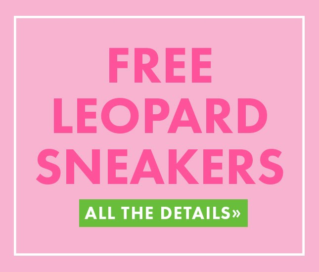 flash sale for monogram leopard sneakers