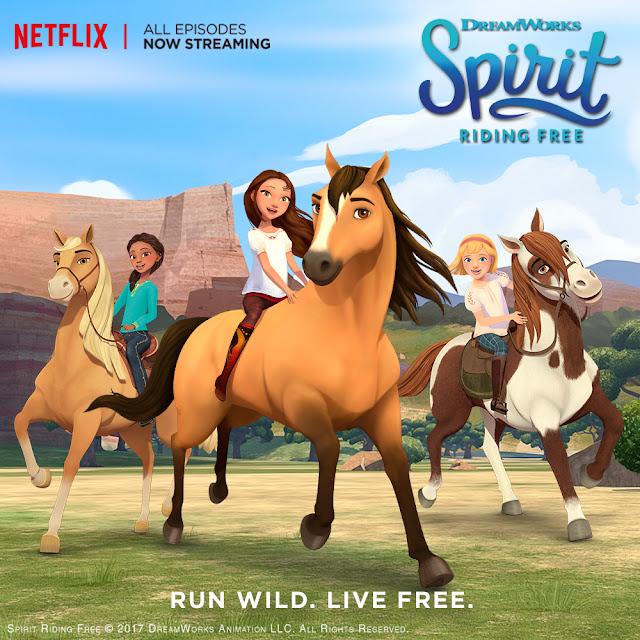 Spirit Riding Free on Netflix, Netflix Prize Pack, Spirit Riding Free Prize Pack, Netflix Stream Team,