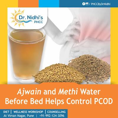 ajwain and methi water