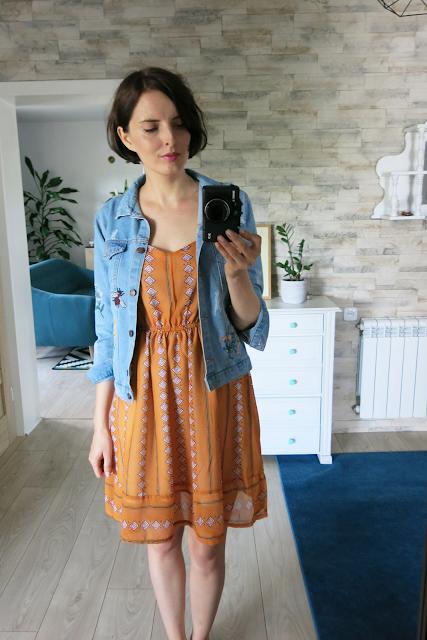 Sukienka | Dress | Torebka | Crossbody Bag