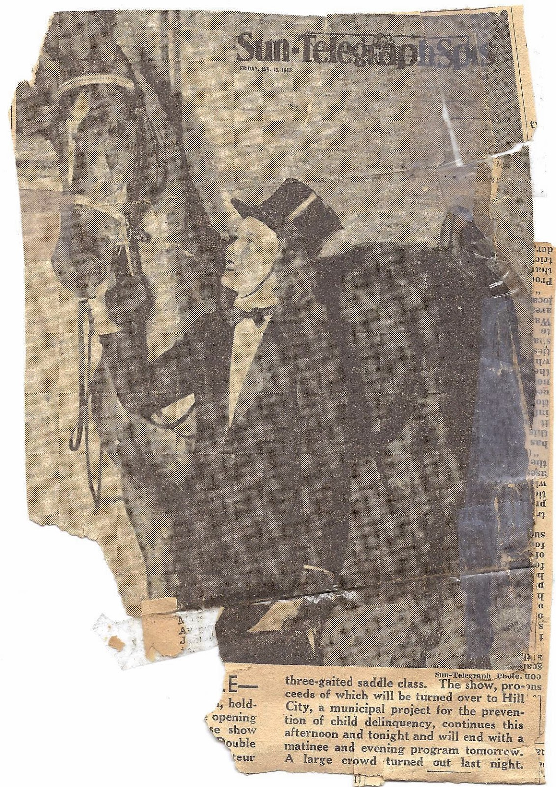 Black Buzz: Pittsburgh's First Indoor Horse Show Held for
