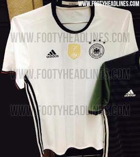 gambar desain terbaru jersey jerman euro musim depan foto photo kamera Jersey jerman home Euro 2016 terbaru di enkosa sport tempat berita bocoran jersey