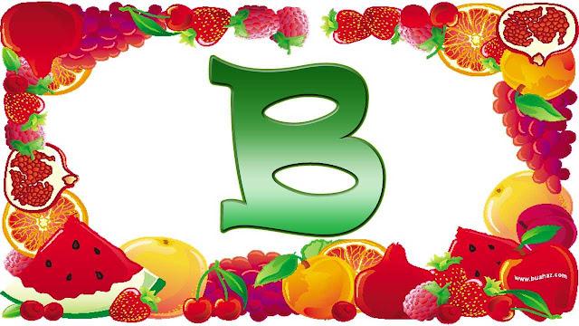 definisi istilah buah dari huruf B