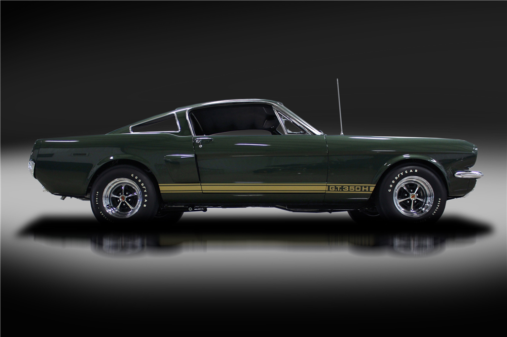 This Green 66 Shelby Gt350 H Is A Rare Rent A Racer
