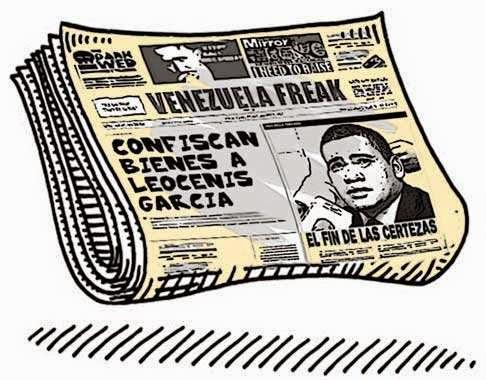Front page cómic - diario 6to Poder Leocenis García