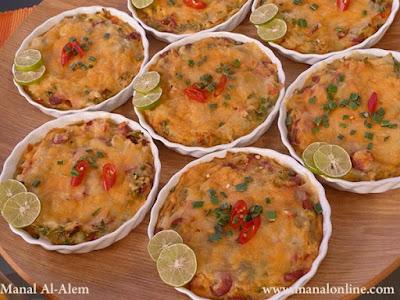 تارت البطاطس بالنقانق - مطبخ منال العالم